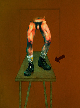 RUDOLF // BACON SERIES 1997  73 X 55 CM // 29 X 22 IN // SET OF 5+2AP