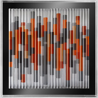 25/2964/19 // TUBES SERIES  120 x 120 x 13 CM // 47 x 47 x 5 IN  SET OF 1
